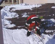 Очистка крыш и прилегающей территории от снега - foto 0
