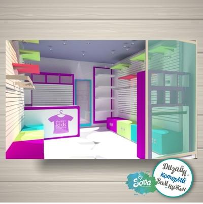 Дизайн магазина,  островка,  торгового оборудования. Фотопривязка. Логот - main
